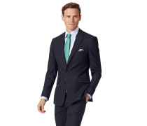Extra Slim Fit Businessanzugsakko aus Wolle