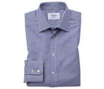 Classic Fit Hemd in Blau