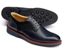 Extra leichte Derby-Schuhe in Marineblau