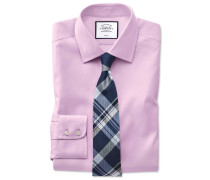 Slim Fit Pinpoint-Oxfordhemd in Rosa
