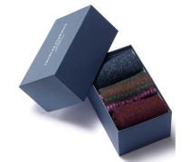 Kompaktes Socken-Geschenkset in Bunt