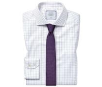 Bügelfreies Slim Fit Hemd aus Baumwoll-Stretch