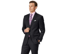 Classic Fit Businessanzugsakko aus Twill