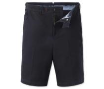 Slim Fit Chino-Shorts in MarineBlau
