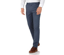 Extra Slim Fit Chino Hose ohne Bundfalte