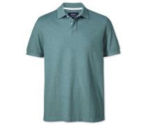 Poloshirt aus Oxford-Gewebe in WaldGrün