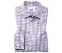 Bügelfreies Classic Fit Hemd in Bunt