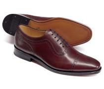 Goodyear rahmengenähte Oxford-Schuhe im Budapester-Stil
