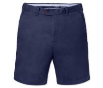 Slim Fit Chino Shorts in Blau