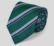 Strukturierte klassische Krawatte aus Seide