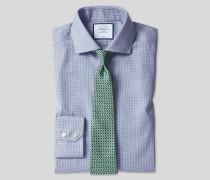 Bügelfreies Stretch-Baumwollhemd