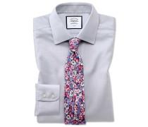 Bügelfreies Slim Fit Hemd aus Gewebe