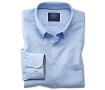 Classic Fit Oxfordhemd in Himmelblau