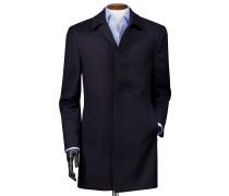 Wetterfester Car Coat aus Twill und Wolle