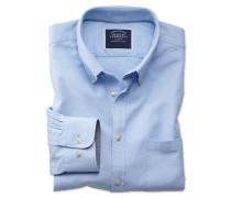 Extra Slim Fit Oxfordhemd in Himmelblau