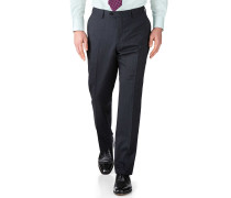 Slim Fit Businessanzughose aus Fil-à-Fil