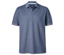 Poloshirt aus Oxford-Chambray-Gewebe