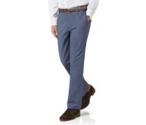 Slim Fit Stretch-Chinohose in Blau