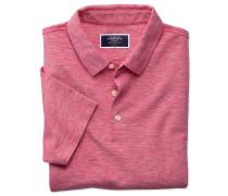 Polohemd aus Baumwoll-Leinen