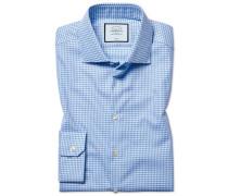 Bügelfreies Super Slim Fit Hemd aus Strukturgewebe