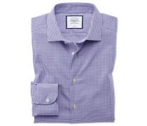 Bügelfreies Slim Fit Business-Casual-Hemd