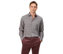 Classic Fit Hemd aus Baumwolle/TENCEL