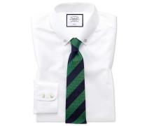 Bügelfreies Classic Fit Twill-Hemd