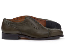 Goodyear-rahmengenähte Budapester Oxford-Schuhe
