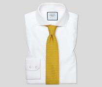 Bügelfreies Hemd aus Buckingham-Gewebe