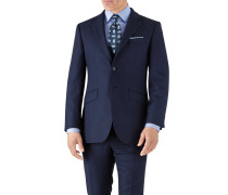 Slim Fit Businessanzugsakko aus Flanell