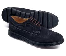 Extra leichte Budapester Derby-Schuhe