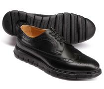 Extra leichte Budapester Derby-Schuhe in Schwarz