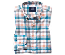 Vorgewaschenes Hemd Classic Fit Bügelfrei Cool