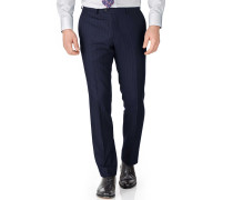 Slim Fit Saxony-Businessanzughose in marineblau