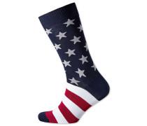 Socken mit american-Design