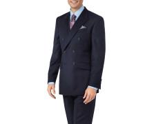 Slim Fit Doppelreiher Business Anzug Sakko