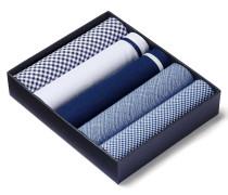 Einstecktücher-Boxset in Blau
