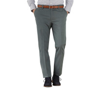 Extra Slim Fit Chino Hose ohne Bundfalte