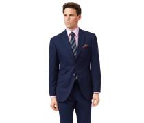 Britisches Slim Fit Luxus-Anzugsakko in Blau