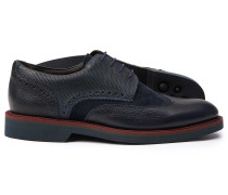 Extraleichte Derby-Schuhe mit Flügelkappen