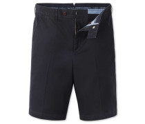 Classic Fit Chino-Shorts in MarineBlau