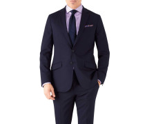 Slim Fit Performance Anzugsakko in Marineblau