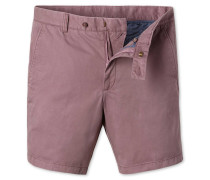 Chino-Shorts in Hellrosa