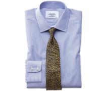 Extra Slim Fit Hemd in Königsblau