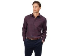 Slim Fit Hemd aus Baumwolle/TENCEL