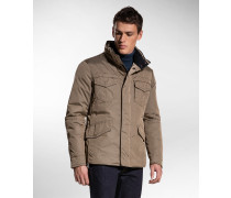 Field Jacket aus Funktions-Oxford