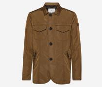 Field Jacket aus changierendem Taft