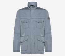 Field Jacket mit vier Taschen aus Taft