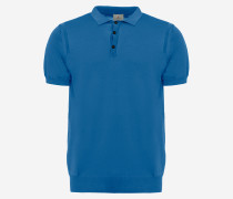 Kurzarm-Poloshirt aus Baumwolle