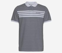 Gestreiftes Baumwoll-Poloshirt